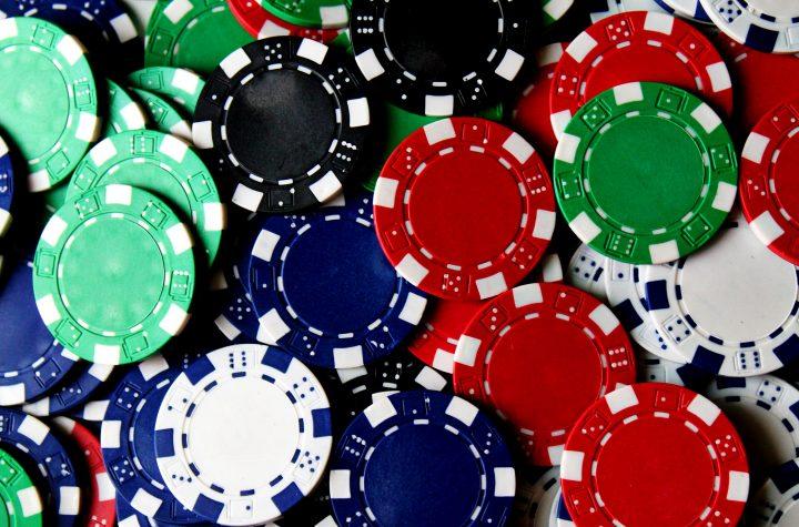 Gamblers register at casino
